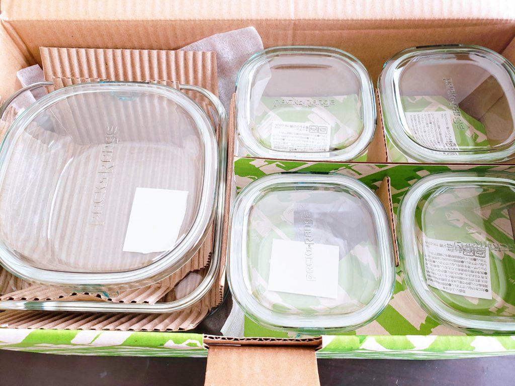 イワキの耐熱性ガラス保存容器