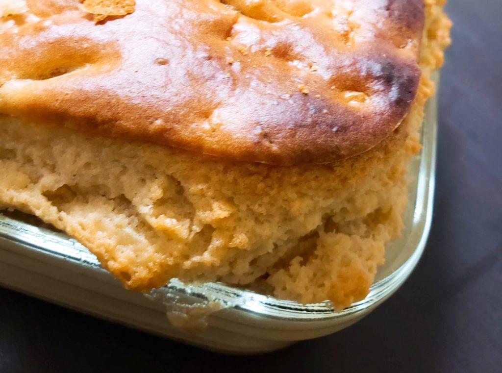 イワキの耐熱性ガラス保存容器はケーキも焼ける