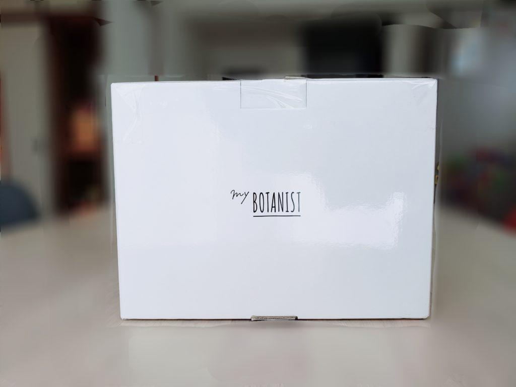 マイボタニストが届いたときの箱