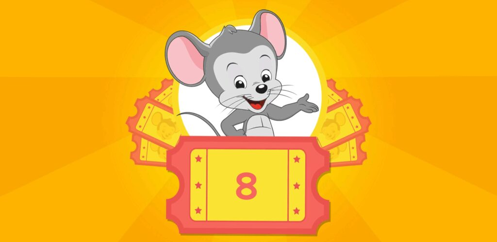 ABCマウスでもらえるチケット